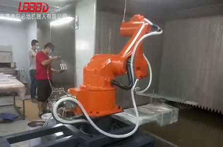 喷涂机器人优势