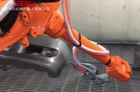 自动化喷涂机器人喷涂效果