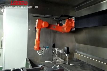 喷涂机器人喷涂作业