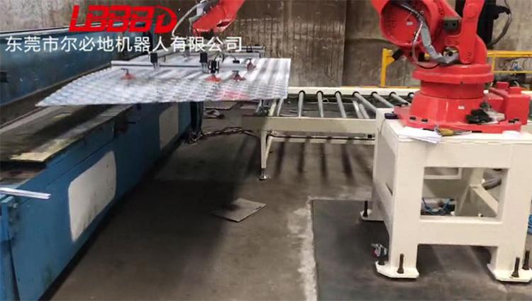 尔必地钣金切割机器人应用案例