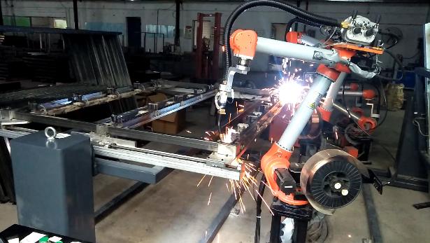 焊接机器人送丝