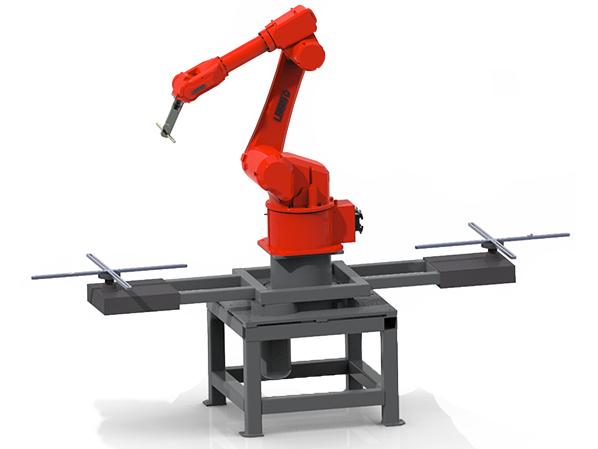 九轴联动机器人