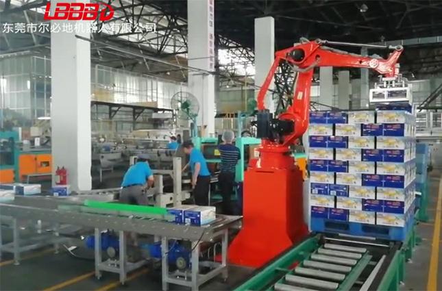 搬運碼垛機器人在物流行業的應用