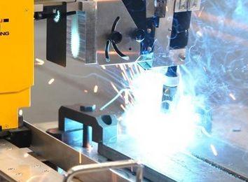 塑料激光焊接机器人