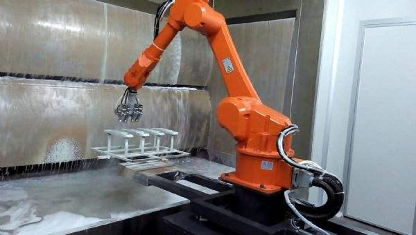 喷涂机器人生产线