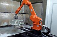 喷涂机器人由哪些零部件组成