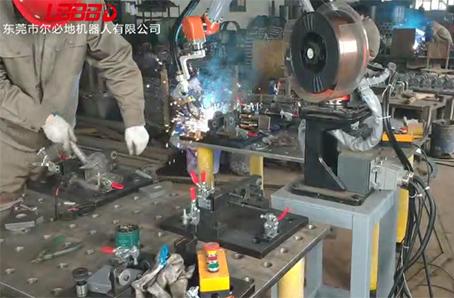 焊接机器人在自动化生产的优势