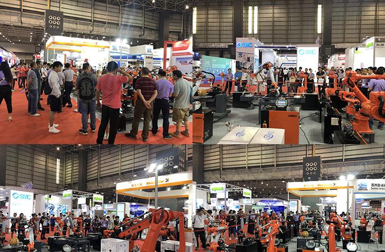 尔必地机器人盛装亮相中国华南国际机器人与自动化展览会