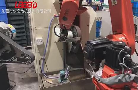 尔必地新款打磨专用机器人应用案例视频