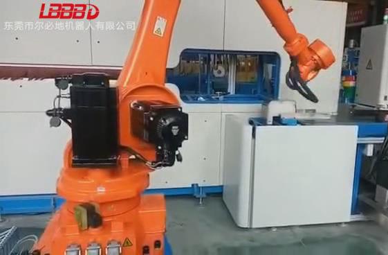 电缆线上下料搬运机器人应用案例视频