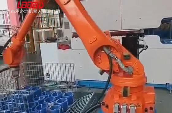 电缆线搬运码垛机器人应用案例视频
