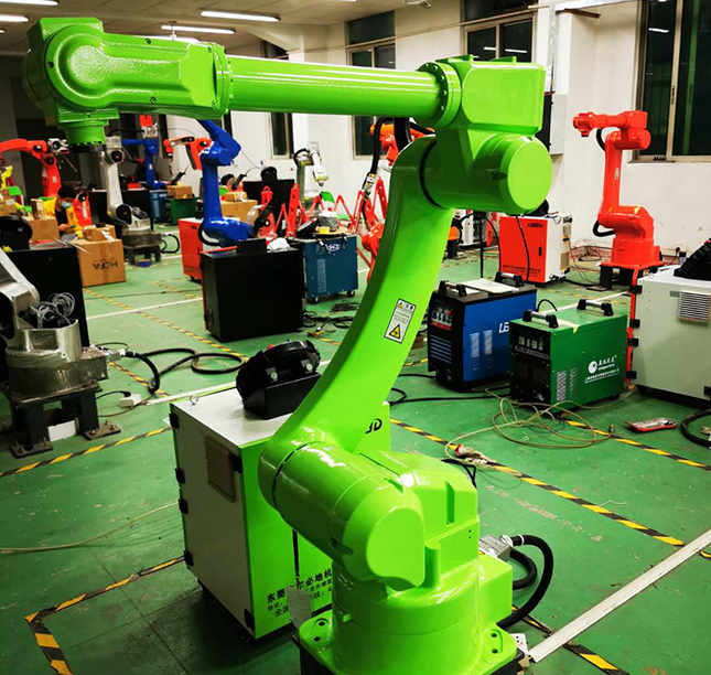 爾必地機器人新一代銲接機器人隆重上市