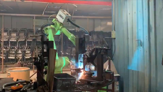 焊接机器人操作流程